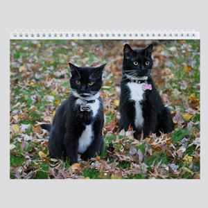 Kitties-Sisters-5 Wall Calendar