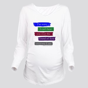 Awesome Long Sleeve Maternity T-Shirt