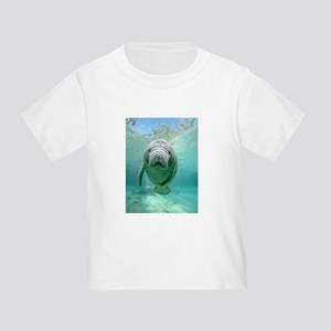 Toddler T-Shirt With Baby Manatee