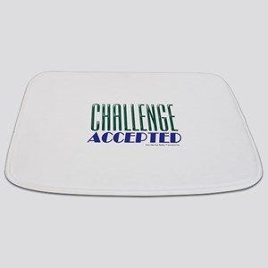 Challenge Accepted Bathmat