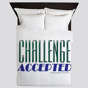 Challenge Accepted Queen Duvet