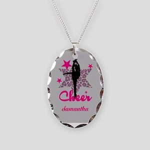 Pink Cheerleader Necklace