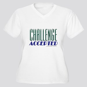 Challenge Accepted Plus Size T-Shirt