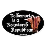 Voldemort is a Registered Republican Sticker