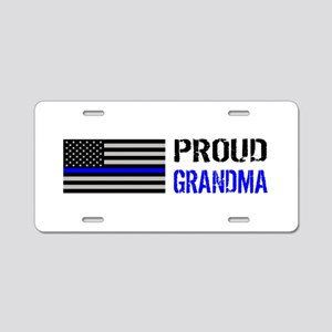 Police: Proud Grandma Aluminum License Plate