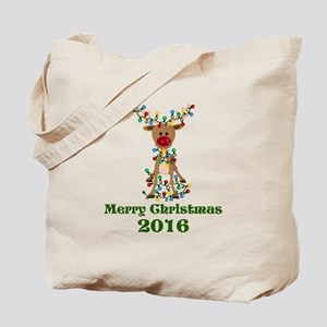 CUSTOM Adorable Reindeer Tote Bag