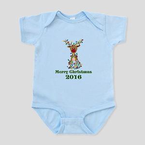CUSTOM Adorable Reindeer Body Suit