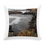 Seal Rock Coastal Scene Everyday Pillow