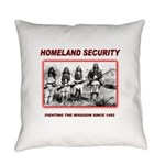 Native Perspective Homeland Securi Everyday Pillow