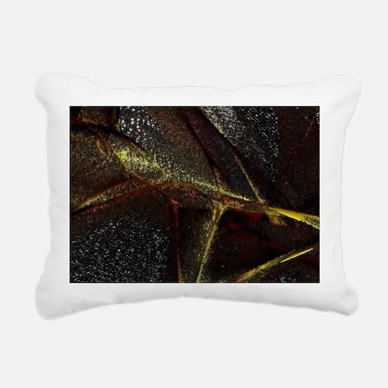 Fleece throw Rectangular Canvas Pillow