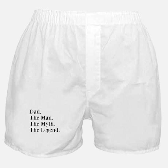 CUSTOM Name. The Man. The Myth. The Legend. Boxer