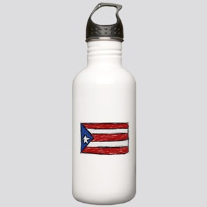 Puerto Rican Flag Stainless Water Bottle 1.0L