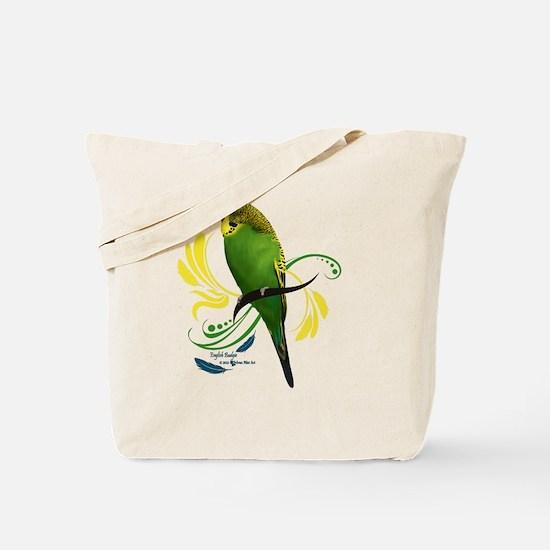 English Budgie Tote Bag