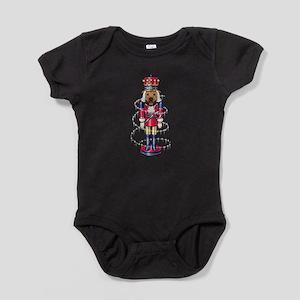 The Muttcracker Baby Bodysuit