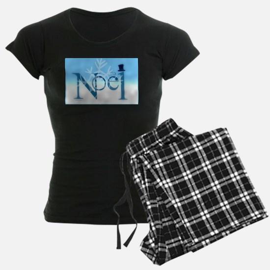 Hats Off Noel Snow Women's Dark Pajamas