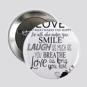"Love 2.25"" Button"