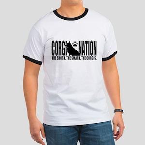 Corgi Nation Logo T-Shirt