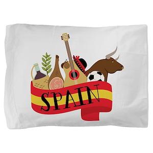 Spain 1 Pillow Sham