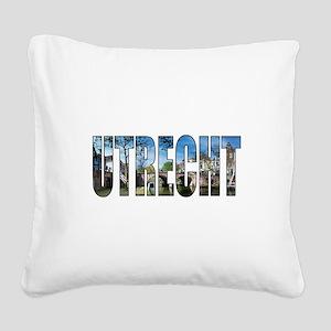 Utrecht Square Canvas Pillow