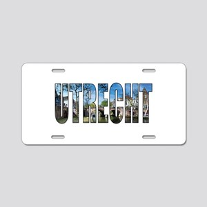 Utrecht Aluminum License Plate