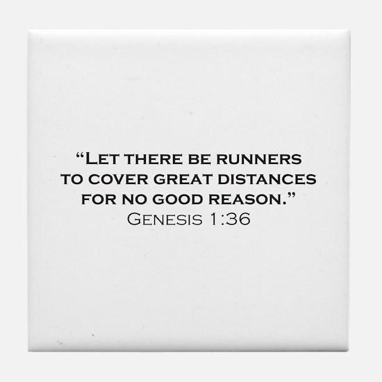 Runner / Genesis Tile Coaster