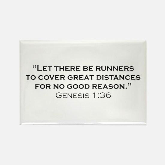 Runner / Genesis Rectangle Magnet