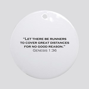 Runner / Genesis Ornament (Round)