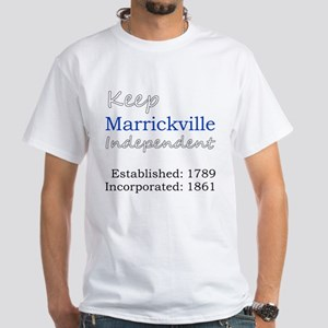 Marrickville DS White T-Shirt