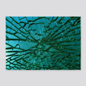 Shattered Glass 5'x7'Area Rug