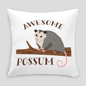 Awesome Possum Everyday Pillow