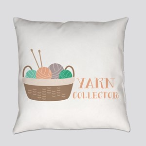 Yarn Collector Everyday Pillow