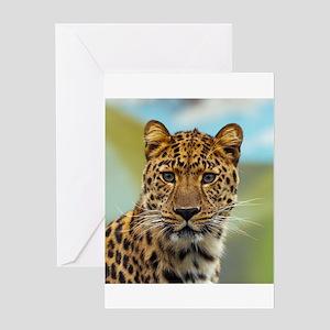 Jaguar009 Greeting Cards