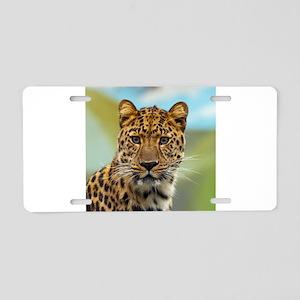 Jaguar009 Aluminum License Plate