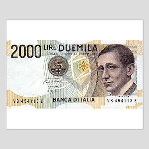 2000 Lire DUEMILA Posters