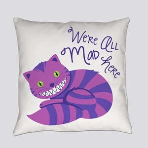 All Mad Here Everyday Pillow