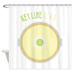 Key Lime Shower Curtains