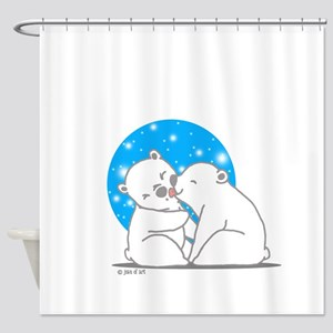 Polar Bears Shower Curtain