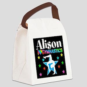 BEST GYMNAST Canvas Lunch Bag