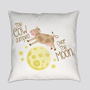The Cow Jumped Over The Moon Everyday Pillow