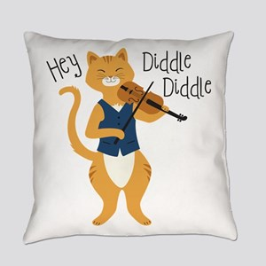 Hey Diddle Diddle Everyday Pillow