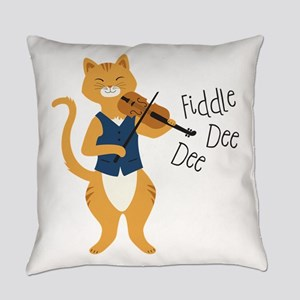 Fiddle Dee Dee Everyday Pillow