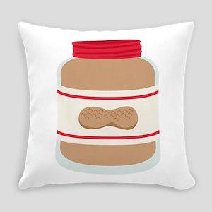 Peanut Butter Jar Everyday Pillow