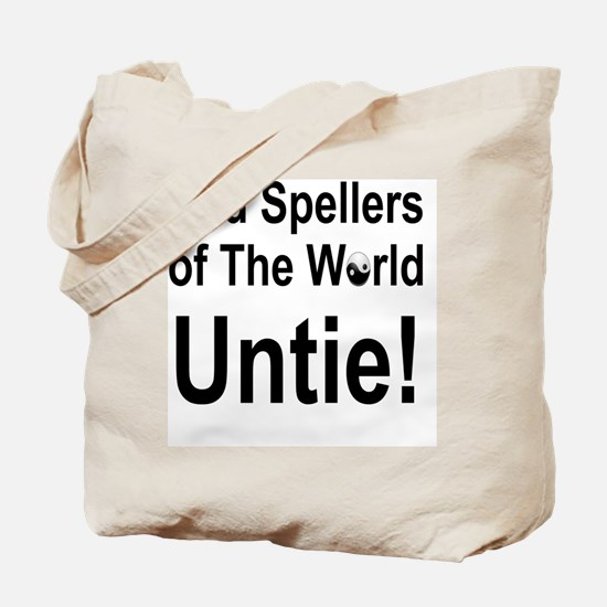 Cute Bad speller Tote Bag