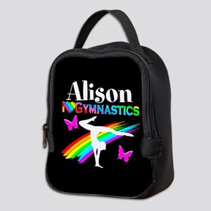 Gymnast Butterfly Neoprene Lunch Bag
