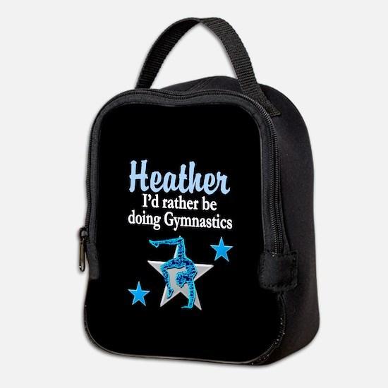 Silver Gymnast Neoprene Lunch Bag