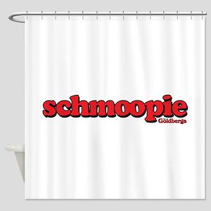 Schmoopie Shower Curtain
