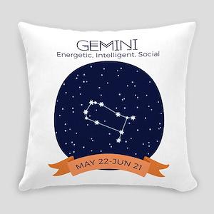 Constellation Taurus Everyday Pillow
