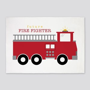 Futre Fire Fighter 5'x7'Area Rug