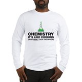 Chemistry cooking Long Sleeve T-shirts