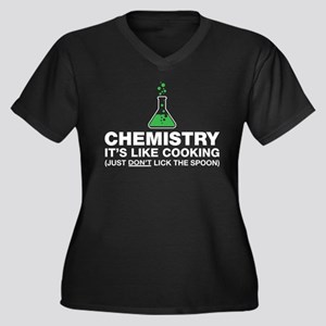Chemistry Lab Humor Plus Size T-Shirt